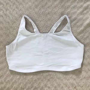 Leading Lady The Serena Wirefree Sports Bra White
